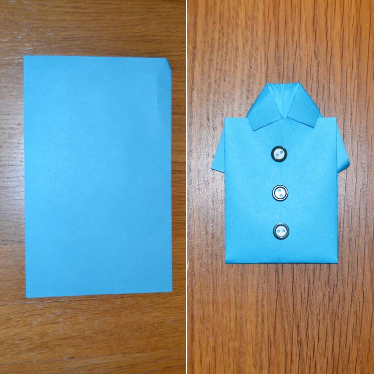 Cómo Hacer Una Camisa De Papel Paso A Paso Foto 1