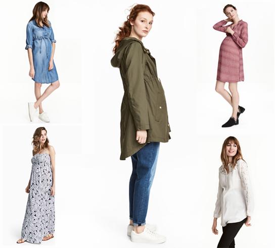Ropa cómoda y estilo desenfadado para esta primavera con la línea premamá de H&M