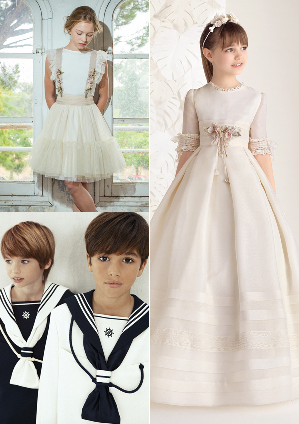 vestidos de primera comunion nanos