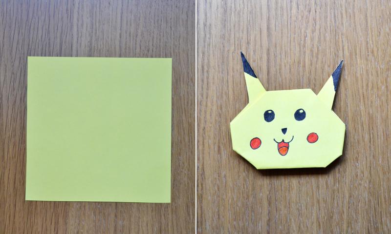 ¿Fan de los Pokémon? Enseña a tu hijo a hacer a Pikachu con la técnica de origami