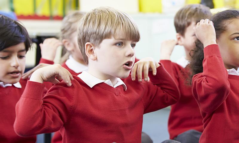 Canciones infantiles para facilitar el desarrollo motriz