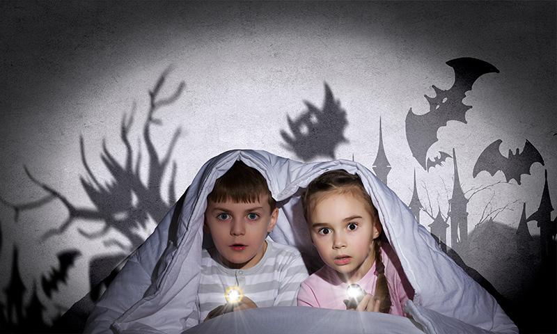 ¿Cuentos de miedo para dormir a los pequeños?