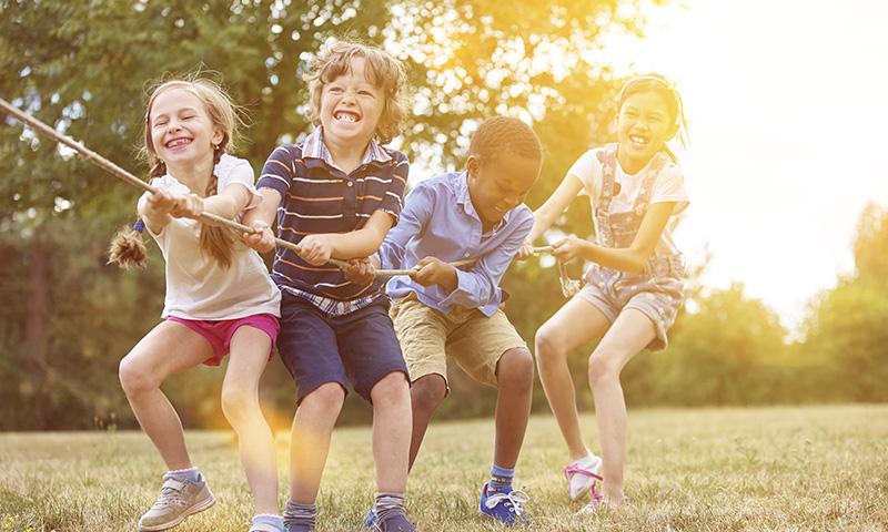 Inculca a tus hijos el espíritu deportivo con canciones infantiles