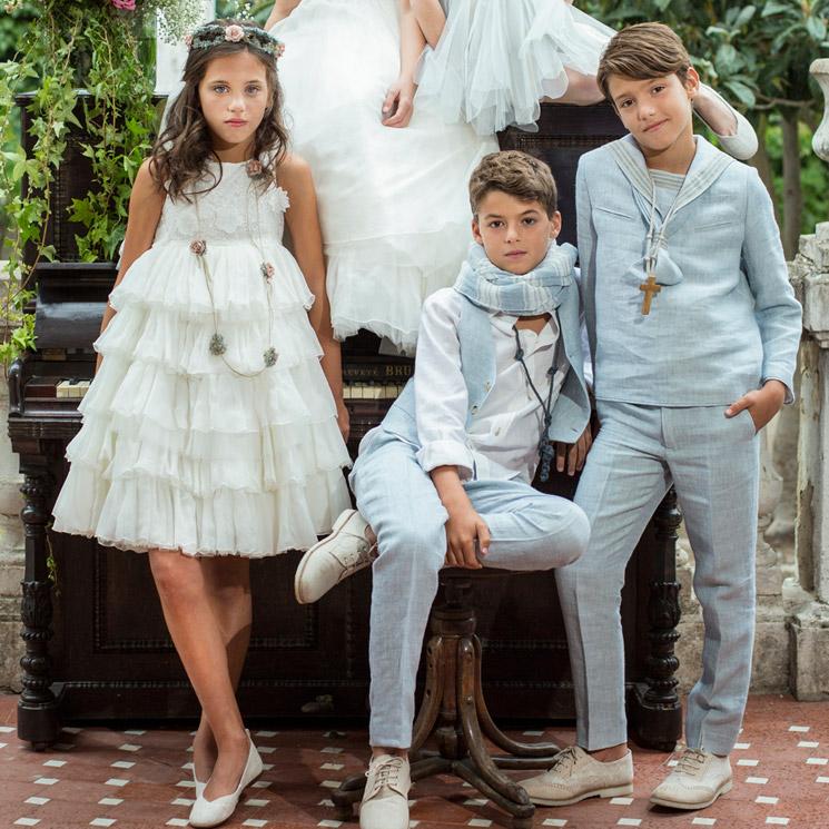 Vestidos de comunion rubio kid 2019