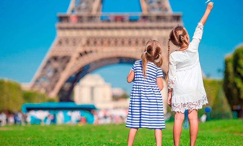 Ocho planes para disfrutar de París en familia