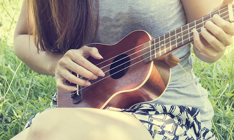 ¡Canciones infantiles para tocar con el ukelele!