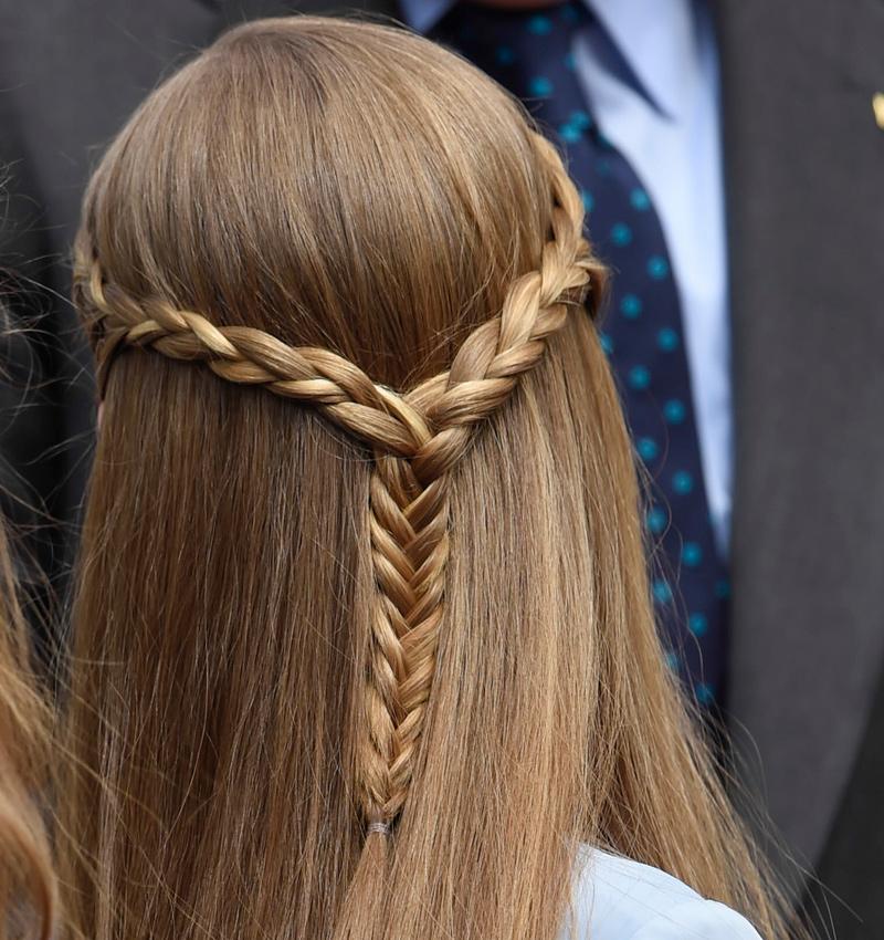 Minimalista peinados para niña Galería de tendencias de coloración del cabello - Ocho peinados para niña fáciles y muy favorecedores - Foto 1