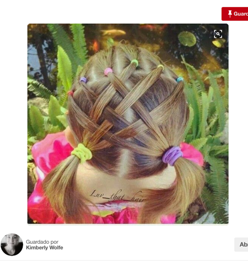 Peinados faciles para nia imagenes de peinados faciles de - Peinados de moda faciles de hacer en casa ...