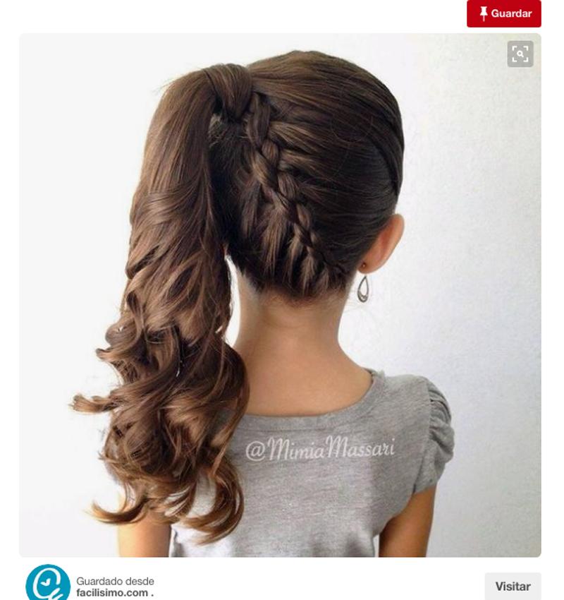 Ocho peinados sencillos para coronar a las princesas de la - Peinados de moda faciles de hacer en casa ...