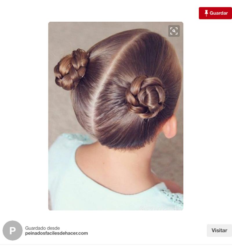 Ocho Peinados Para Nina Faciles Y Muy Favorecedores Foto