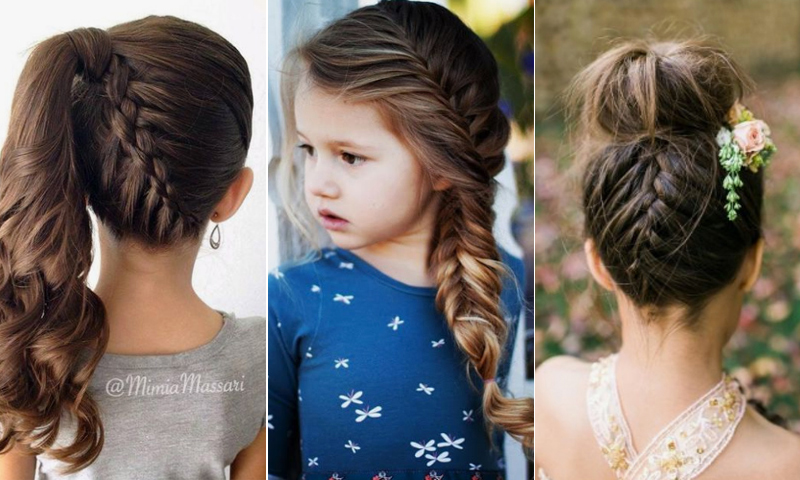 ocho peinados fciles para que tu hija brille - Peinados Sencillos