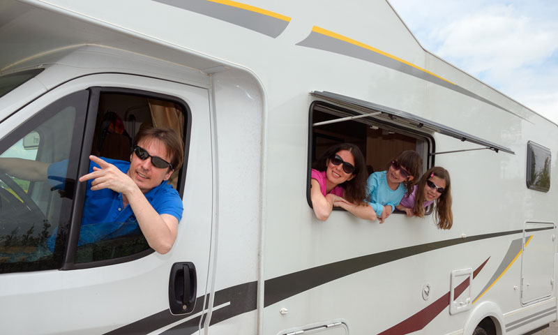 ¡Con la casa a cuestas! Cinco rutas en autocaravana para un verano en familia