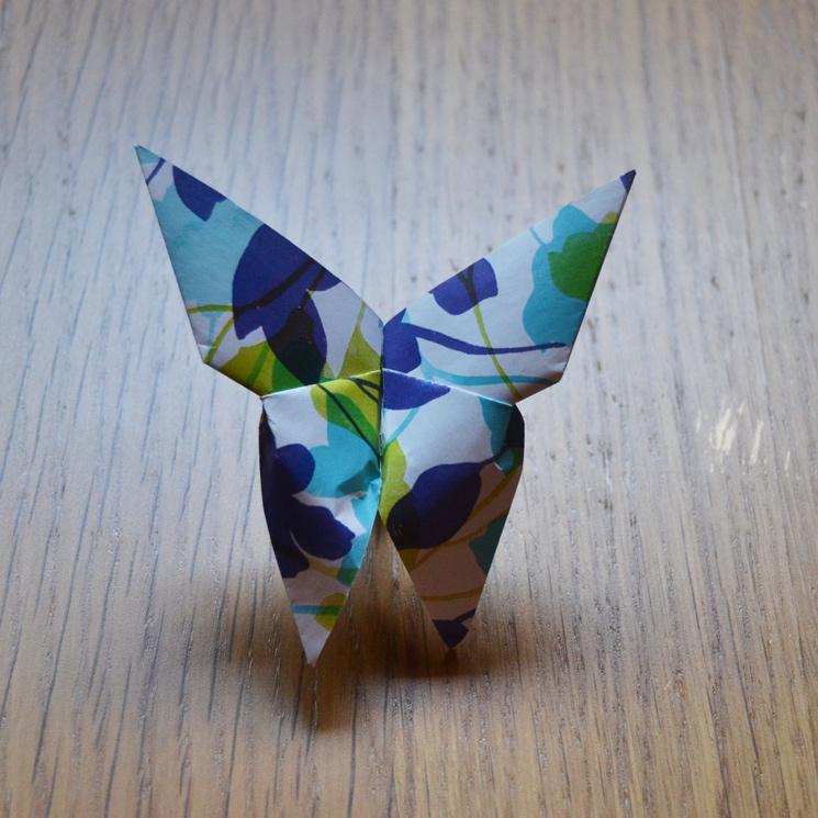 Como Hacer Una Mariposa De Papel Paso A Paso Foto