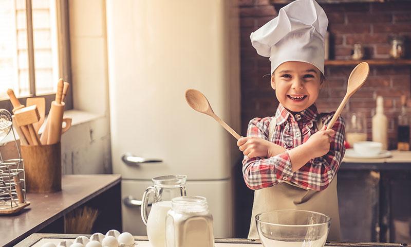 ¡Que tu hijo se convierta en todo un chef con estas canciones infantiles!