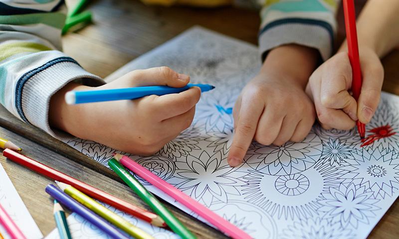 Los mandalas: dibujos para pintar que mejoran la psicomotricidad y la creatividad en los niños