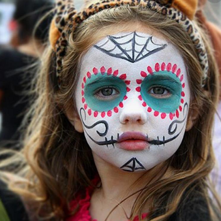 Siete Maquillajes De Halloween Ideales Para Niños