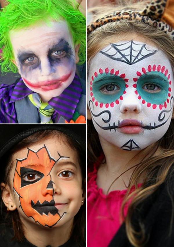 Siete ideas de maquillajes para que tu hijo saque su lado ms