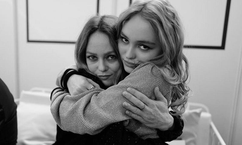 ¿Quién es quién? Vanessa Paradis y Lily-Rose Depp, como dos gotas de agua