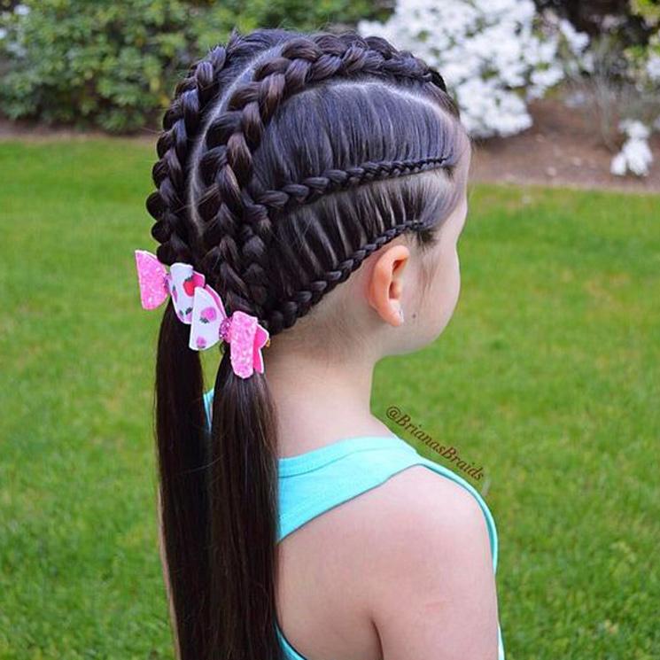Cinco Peinados Con Trenzas Para Niñas Foto 1