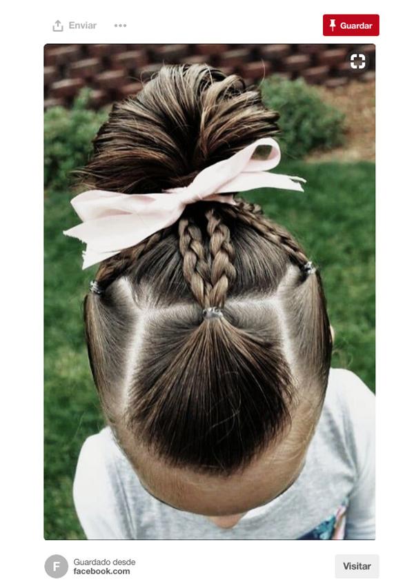 Cinco Peinados Con Trenzas Para Ninas Foto