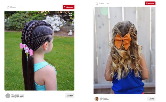 Cinco Peinados Con Trenzas Para Ninas