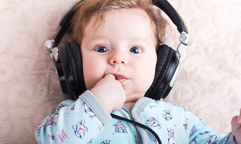 Resultado de imagen para musica y bebes