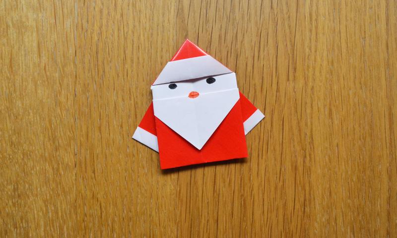 Un divertido Papá Noël para decorar el árbol de Navidad