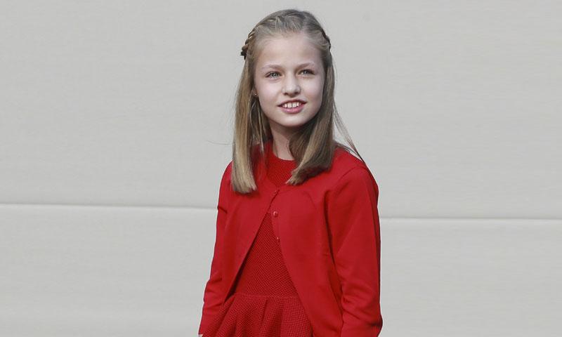 Leonor, la princesa de una generación de pequeños 'royals' con mucho estilo