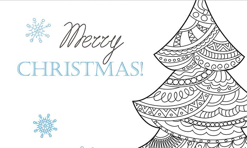 Haz las Navidades de tus hijos más divertidas con mandalas para colorear