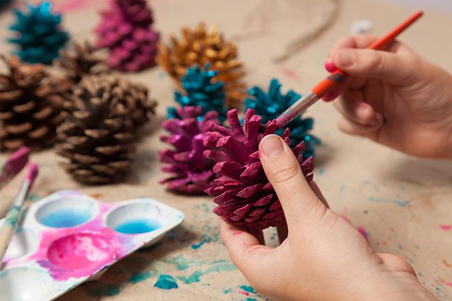 Aprovecha Las Navidades Con Tus Hijos Realizando Estas Manualidades - Manualidades-navideas-con-pias