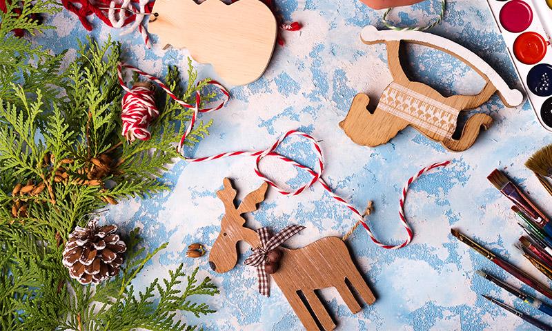 Manualidades Que Les Encantaran Para Un Arbol De Navidad Con Encanto - Manualidad-arbol-navidad
