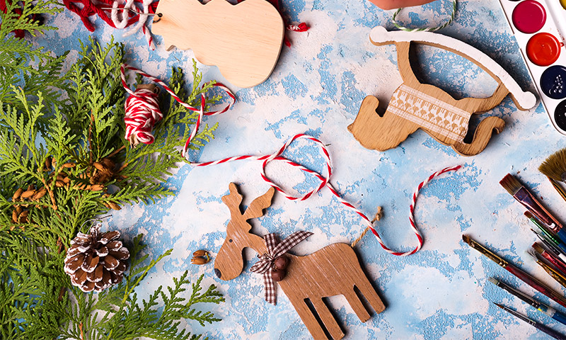 Manualidades que les encantarn para un rbol de Navidad con encanto