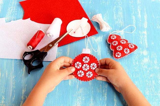 Manualidades Que Les Encantaran Para Un Arbol De Navidad Con Encanto - Manualidades-de-adornos-navideos