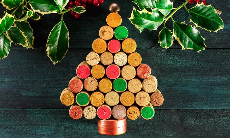 Nunca unos tapones de corcho dieron tanto de s for Accesorios para decorar en navidad
