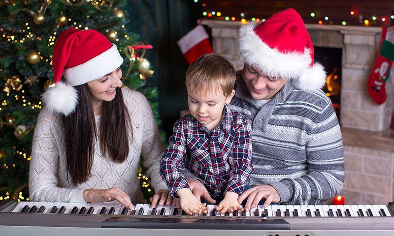 Canciones infantiles para avivar el espíritu navideño... ¡Y a disfrutar en familia!