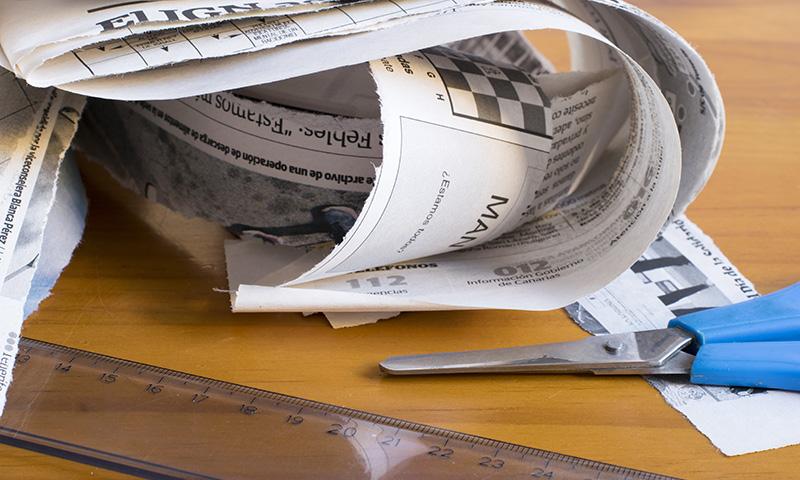 Manualidades con papel de periódico: Reciclar nunca fue tan divertido