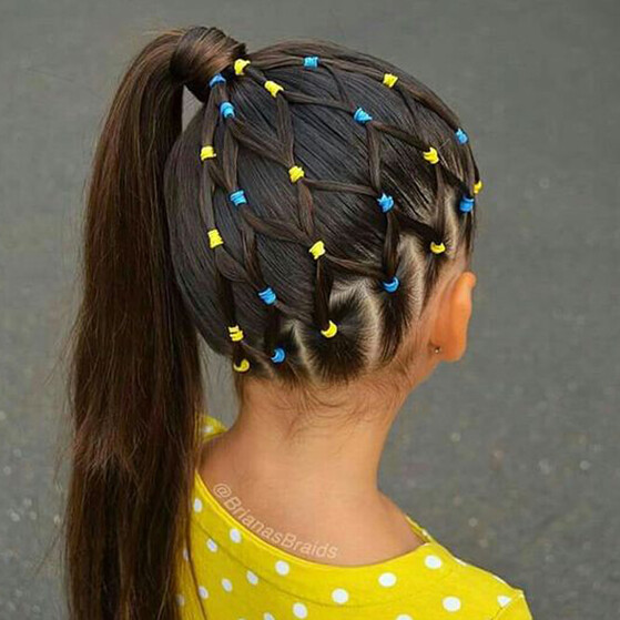 Peinados Para Ninas Sencillos Y Muy Divertidos Para Para Ir Al Cole