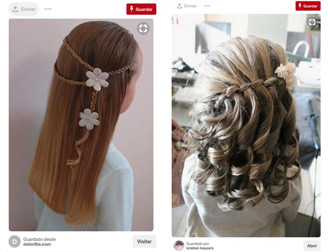 Peinados Para Ninas Sencillos Y Muy Divertidos Para Para Ir Al Cole - Ver-peinados-para-nia