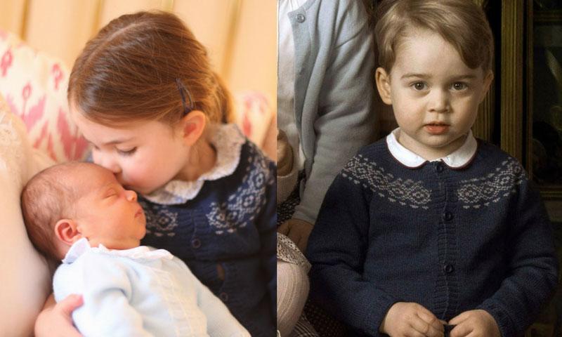 La chaqueta 'made in Spain' de Charlotte de Cambridge ya la llevó su hermano mayor