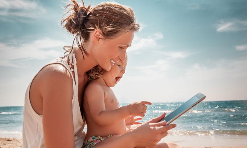 Cinco app para que tus hijos sigan aprendiendo este verano