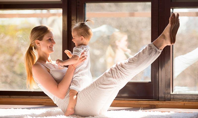Ejercicios para recuperar la figura después del parto