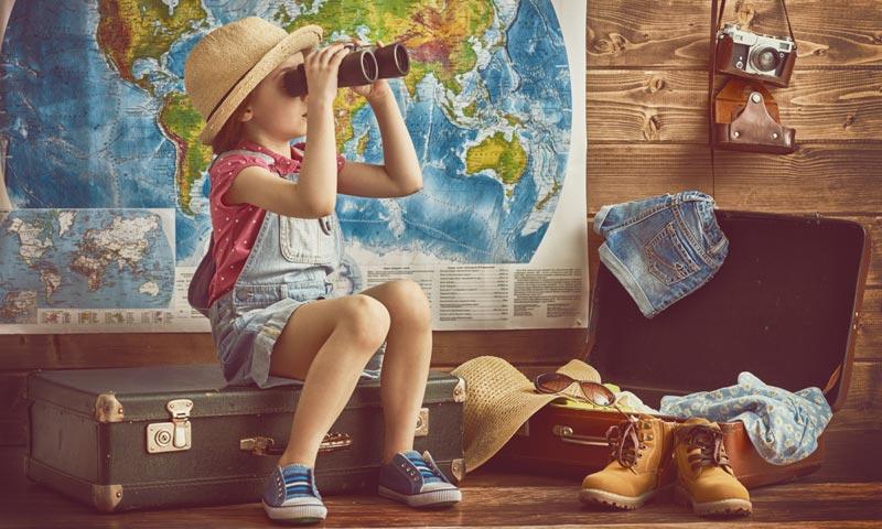 Todo lo que debes tener en cuenta si viajas con niños a países tropicales