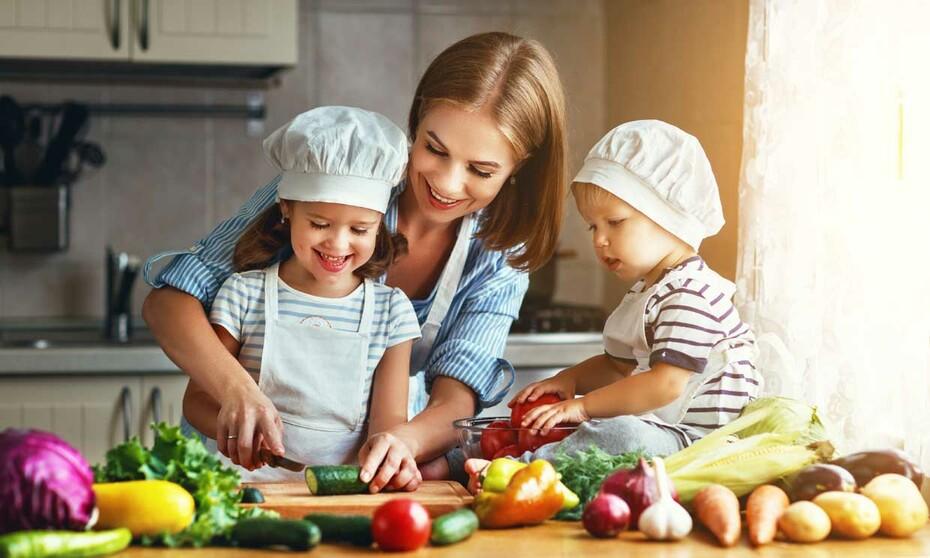 requerimientos energéticos para niños pequeños
