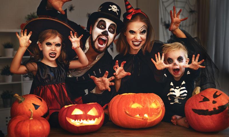 Especial Halloween: disfruta de una noche 'de miedo' en familia