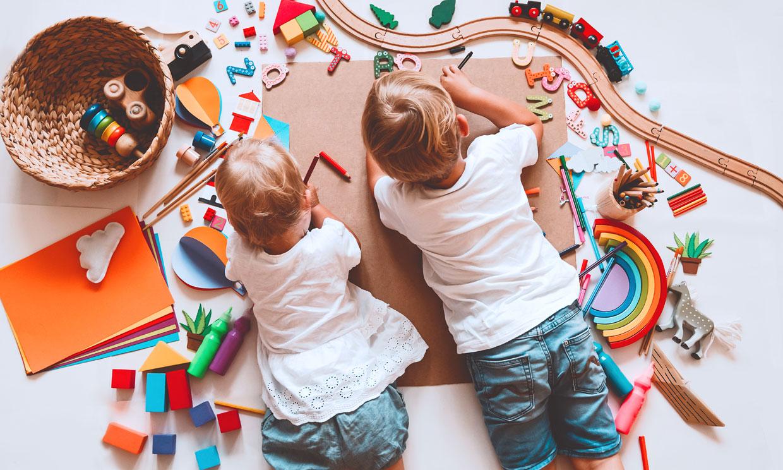 7 actividades fáciles para que los niños se diviertan en casa