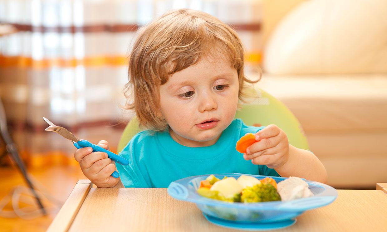 Deja que tu hijo decida si no quiere comer más