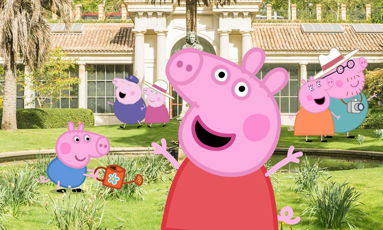 Peppa Pig llega al Jardín Botánico de Madrid