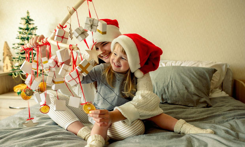 Ocho ideas, muy fáciles, para hacer un calendario de Adviento con los niños