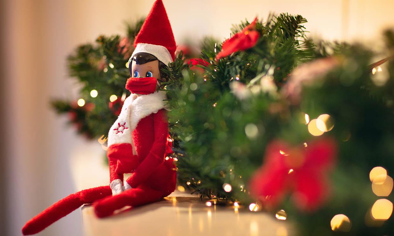 'Elf on the shelf', una divertida tradición navideña que hará disfrutar a los más pequeños