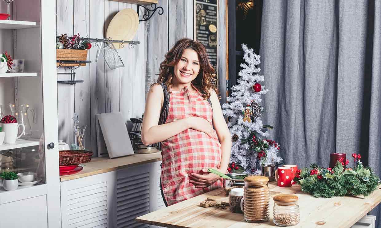 Qué no deberías comer en Navidad, si estás embarazada